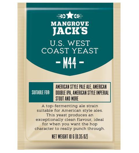 M44 US West Coast Yeast Mangrove Jack's 10g