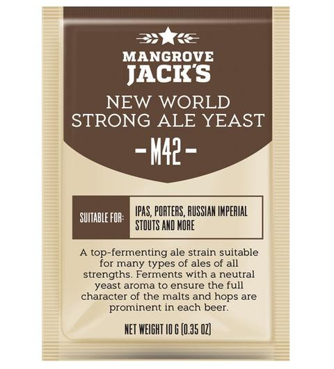 M42 New World Strong Ale Yeast Mangrove Jack's 10g