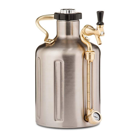 GrowlerWerks uKeg 128 stainless steel - 3.8 l
