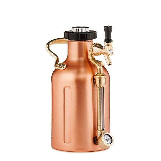 GrowlerWerks uKeg 64 copper-plated - 1.9 l