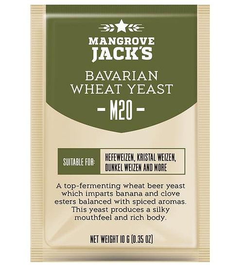 M20 Bavarian Wheat Yeast Mangrove Jack's 10g