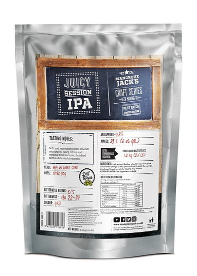MANGROVE JACK'S JUICY SESSION IPA - LIMITED EDITION