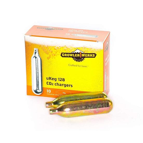 Growlerwerks CO2 cartridges 16 g 10 pieces