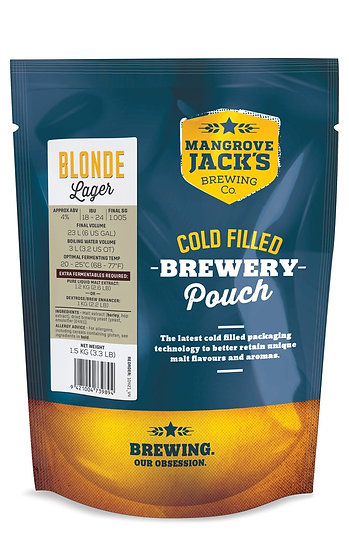 MANGROVE JACK'S TRADITIONAL SERIES BLONDE LAGER