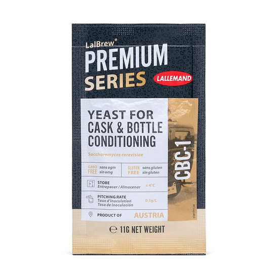 Cask & Bottle Conditioning Yeast Lallemand 11g