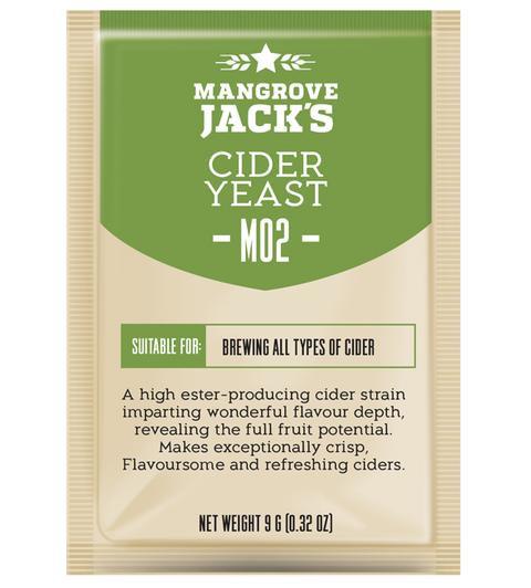 M02 Cider Yeast Mangrove Jack's 10g