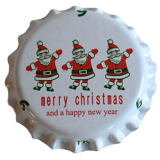 Christmas Beer Bottle Caps - 26mm - 100pcs
