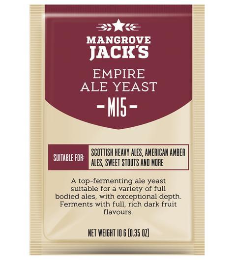 M15 Empire Ale Yeast Mangrove Jack's 10g