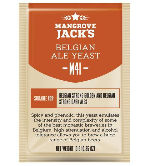 M41 Belgian Ale Yeast Mangrove Jack's 10g