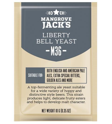 M36 Liberty Bell Ale Yeast Mangrove Jack's 10g