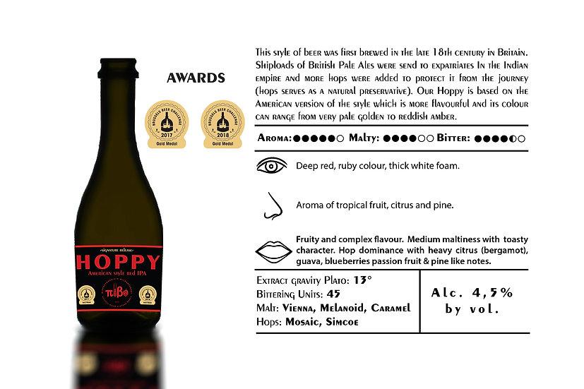Pivo Microbrewery - Hoppy - Alcohol 4,5% Vol. 0,33L