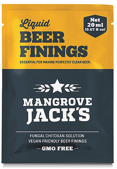 Mangrove Jacks Liquid Beer Finings Sachet