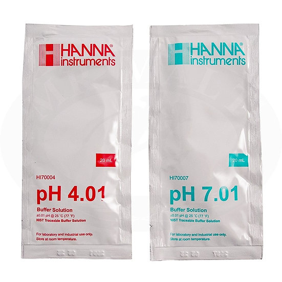 Ph 4,01 - 7,01 calibration sachets