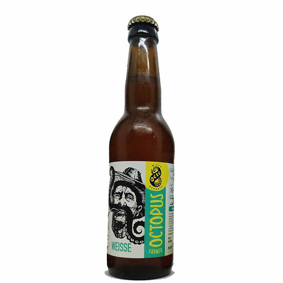 Octo Microbrewery - Weiss - Farmer OCTOPUS - Alcohol 4,7% Vol. 0,33L