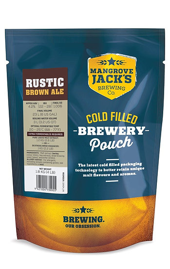 MANGROVE JACK'S TRADITIONAL SERIES RUSTIC BROWN ALE