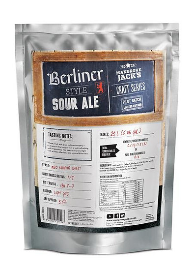 MANGROVE JACK'S BERLINER STYLE SOUR ALE - LIMITED EDITION
