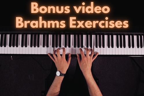 Brahms Exercises - BONUS VIDEO