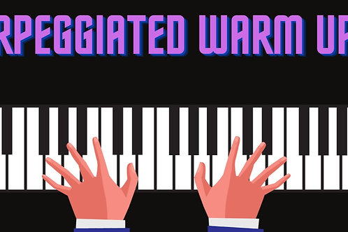 HARP - Arpeggiated Right Hand Warm Ups (2 pdfs)