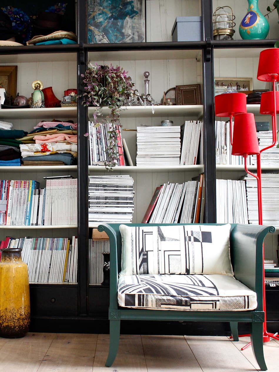 Modernist Reupholstered Chair