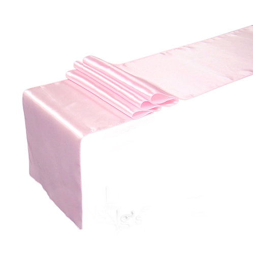 Рънър за маса - Светло розов