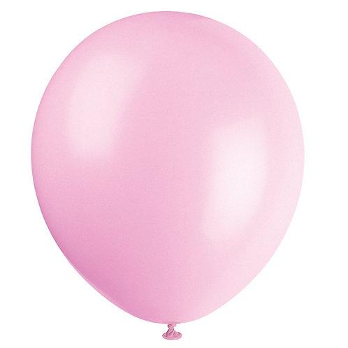 Розови латексови балони  - 10 бр.