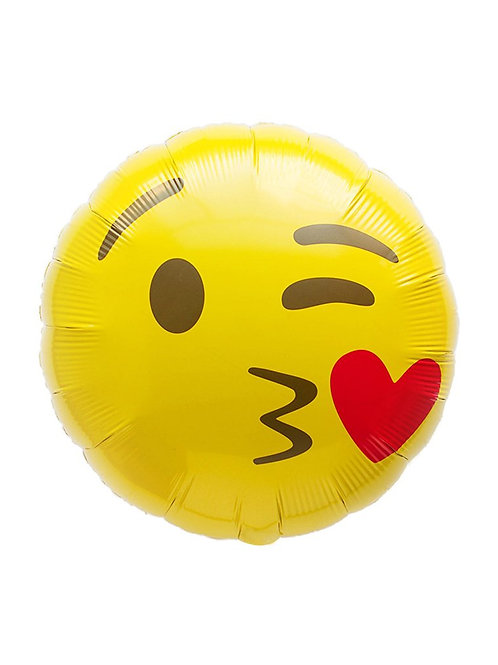 Фолиев балон Емотикон 😚