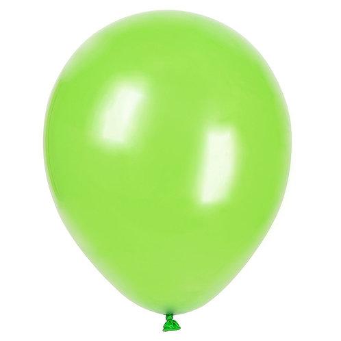 Зелени (лайм) латексови балони  - 10 бр.