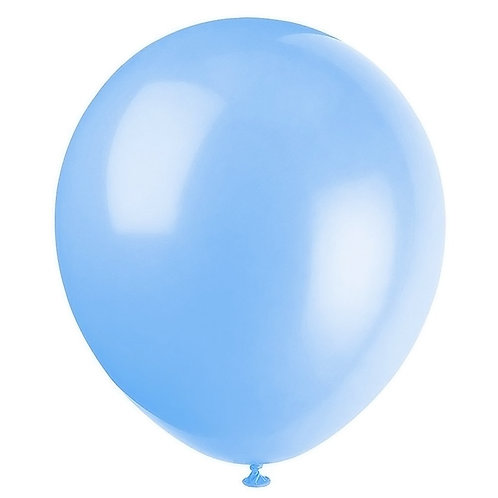 Сини латексови балони  - 10 бр.