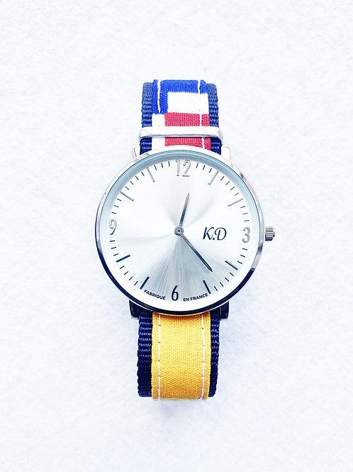 Montre Ankara K.D bracelet en Nato Nylon