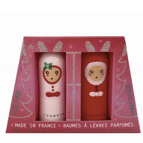 Coffret Noël baumes duo