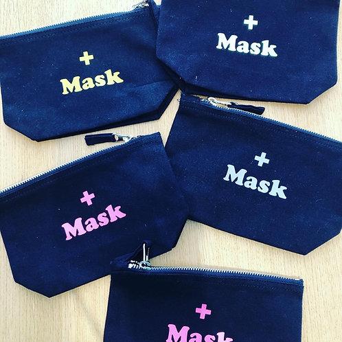 """Trousse """"mask"""" pour le sac"""