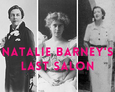 Natalie Barney's Last Salon