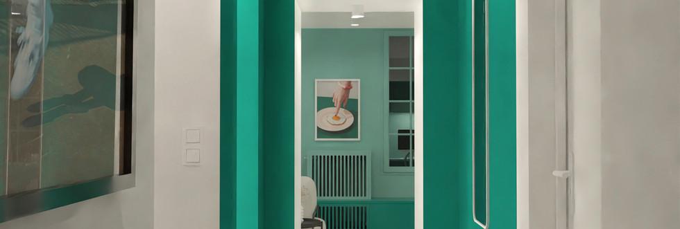 N&V - L'Appartement Vert (Couloir)