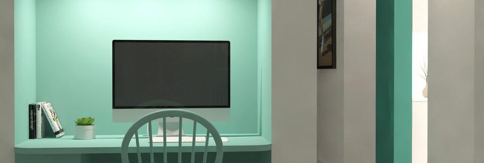 N&V - L'Appartement Vert (Bureau)