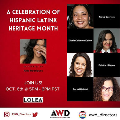 Hispanic Latinx Heritage Month Celebration!