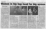 The Final Call: Women in hip hop head for big screen