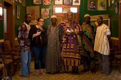 Filming in Ota, Lagos, Nigera