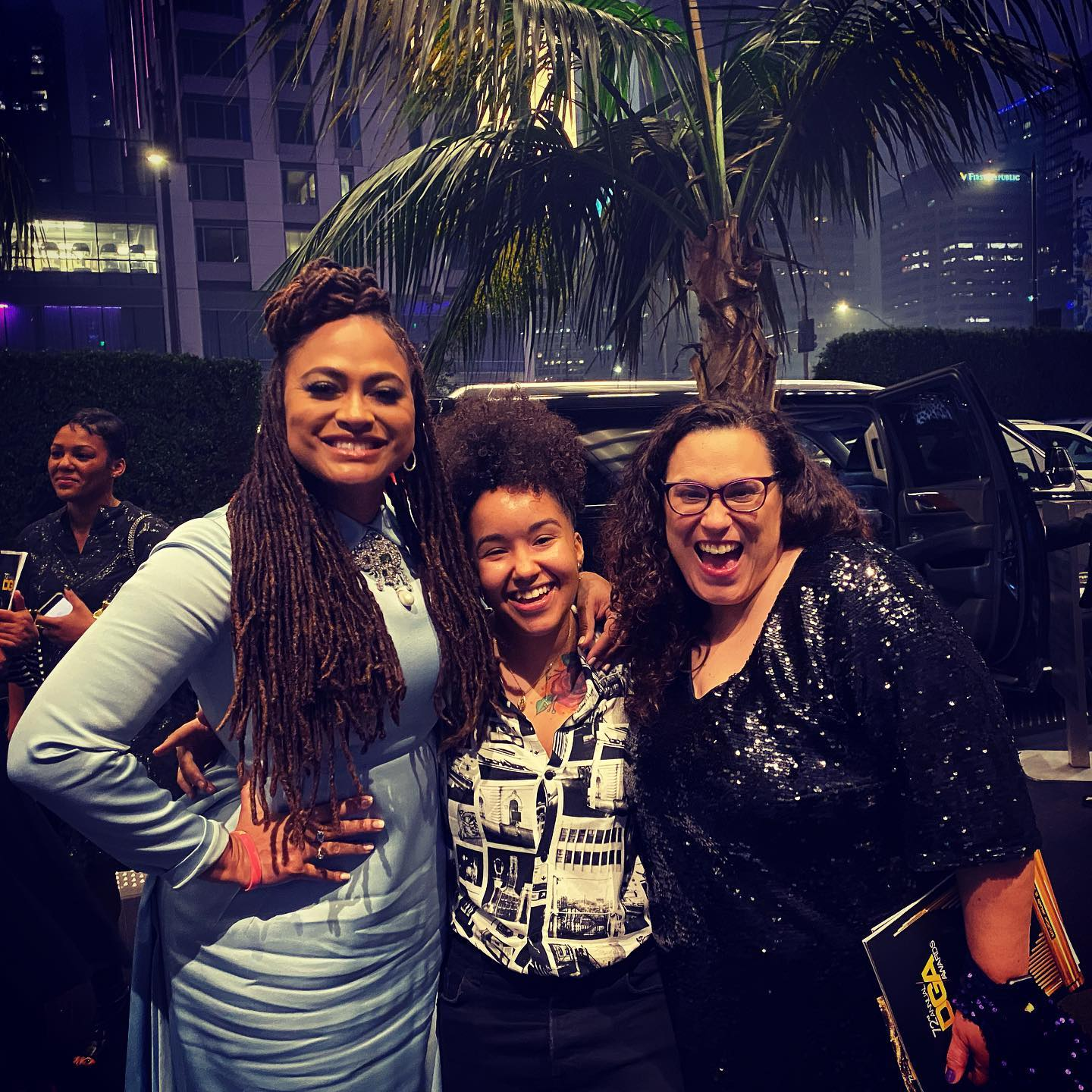 Ava DuVernay, Sh00ter & Doc Raimist at DGA Awards