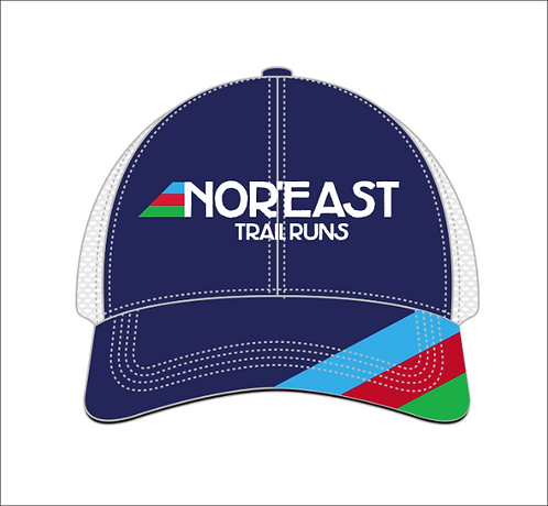 Nor'east Trail Runs classic 3-stripe BOCO Technical Trucker