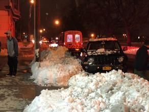 Severe car crash on Upper Falls Boulevard
