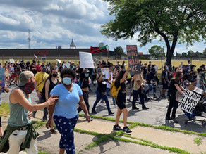 Black Lives Matter protest for the 5th week in Rochester New York