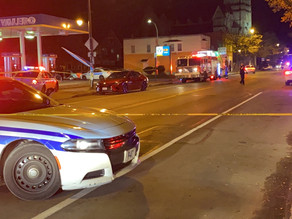 Male shot at gas station on North Clinton Avenue