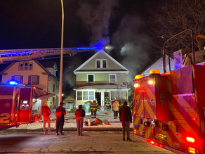 House Fire on Driving Park Avenue