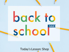 Back to school sell 2017