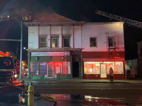 House fire on Clifford Avenue and Hudson Avenue