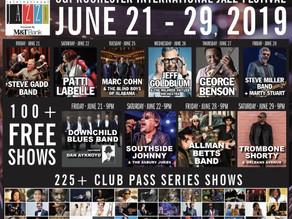 Closings forRochester International Jazz Festival