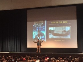 Rick Riordan Ship of the Dead Tour here in Rochester SOLD OUT