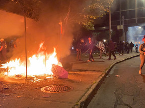 11 people arrested in Rochester after protest, fireworks thrown at officers, protesters sprayed