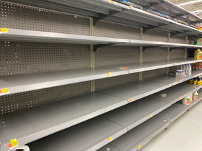 Stores struggling to keep basic cleaning items in stock