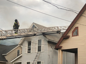 Large house fire on Alphonse Street